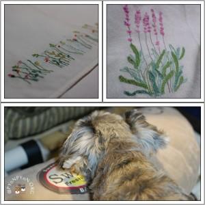 刺繍とあごのせポプラ