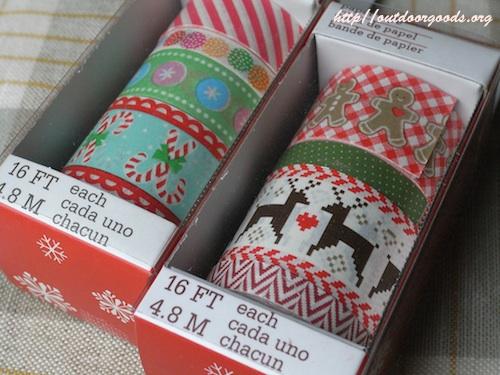 マーサ クリスマス マスキングテープ