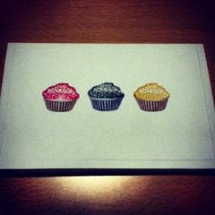カップケーキのカード