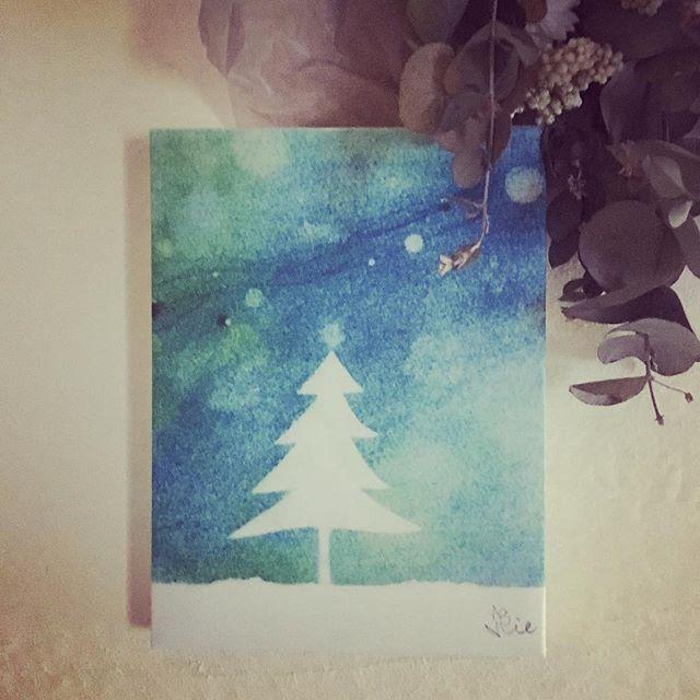 パステル画パネルにしてみました。パステル触りたくなってきます。水彩も触れてないここ数日。この絵を見ていたからか、昨日の夢では雪が降りました。